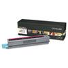 Lexmark C925H2MG High-Yield Toner, 7,500 Page-Yield, Magenta