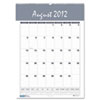 House of Doolittle Bar Harbor Wirebound Academic Monthly Wall Calendar, 15-1/2 x 22, 2015-2016