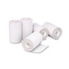 "Single-Ply Thermal Cash Register/POS Rolls, 2-1/4"" x 55 ft., White, 5 Rolls/Pack"