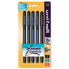 Jetstream 101 Roller Ball Stick Water-Resistant Pen, Assorted Ink, Medium, 5/Set
