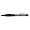 Paper Mate Clickster Grip Mechanical Pencil, 0.50 mm, Smoke Barrel Refillable