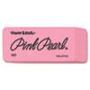 Paper Mate Pink Pearl Eraser, Large, 12/Box