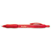 Profile Ballpoint Retractable Pen, Red Ink, Bold, Dozen