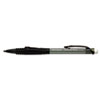 Paper Mate Clickster Grip Mechanical Pencil, 0.70 mm, Smoke Barrel, Refillable