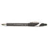 FlexGrip Elite Ballpoint Retractable Pen, Black Ink, Medium, Dozen