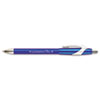 FlexGrip Elite Ballpoint Retractable Pen, Blue Ink, Medium, Dozen