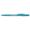 Paper Mate Ballpoint Stick Pen, Blue Ink, Medium, Dozen