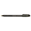 Paper Mate ComfortMate Ballpoint Stick Pen, Black Ink, Medium, Dozen