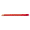 Eraser Mate Ballpoint Stick Erasable Pen, Red Ink, Medium, Dozen