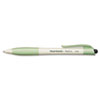 Paper Mate Earth Write Biodegradable Retractable Ballpoint Pen, Black Ink, Medium, Dozen