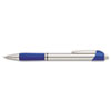 Paper Mate Ballpoint Retractable Design Pen, Blue Ink, Fine