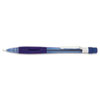 Pentel Quicker Clicker Mechanical Pencil, 0.7 mm, Transparent Blue Barrel
