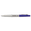 Flair Porous Point Stick Free-Flowing Liquid Pen, Blue Ink, Ultra Fine, Dozen