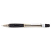 Pentel Quicker Clicker Mechanical Pencil, 0.5 mm, Transparent Smoke Barrel