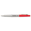 Flair Porous Point Stick Free-Flowing Liquid Pen, Red Ink, Ultra Fine, Dozen