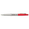Paper Mate Flair Porous Point Stick Free-Flowing Liquid Pen, Red Ink, Ultra Fine, Dozen