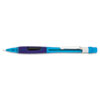 Pentel Quicker Clicker Mechanical Pencil, 0.5 mm, Transparent Blue Barrel