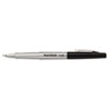 Flair Porous Point Stick Free-Flowing Liquid Pen, Black Ink, Ultra Fine, Dozen