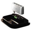 Belkin Hub-To-Go Base and Travel USB Hub, 7 Ports, Black/Silver