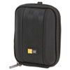 Compact Camera Case with EVA Shell, Polyester/EVA, 3-1/2 x 1-2/5 x 4-1/2, Black