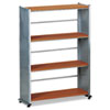 Eastwinds Accent Shelving, Four Shelves, 31-1/4w x 11d x 44-1/2h, Medium Cherry