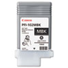 Canon 0894B001(PFI-102) Ink, 130 mL, Matte Black