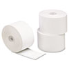 "Single-Ply Thermal Paper Rolls, 1-15/32"" x 230 ft, White, 100/Carton"