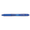 EnerGel X Retractable Roller Gel Pen, Blue Ink, Medium, Dozen