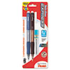 Pentel Twist-Erase EXPRESS Mechanical Pencil, 0.7 mm, 2 per Set