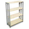 Trento Line Bookcase, 31-1/2w x 11-5/8d x 43-1/4h, Oatmeal