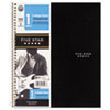 Wirebound Notebook, College Rule, 3-hole Punch, Poly Cover, 1 Subject 100 Sheets