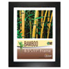 Bamboo Frame, 8 1/2 x 11, Black