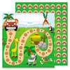Jungle Safari Mini Incentive Chart, 5 1/4w x 6h