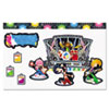 Rock Stars Bulletin Board Set, Assorted Colors