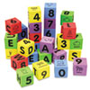 Chenille Kraft WonderFoam Learning Blocks, Assorted, 30 Blocks