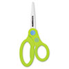 "KleenEarth Recycled Kids Scissors With Microban Protection, 5"" Pointed"