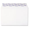 Grip-Seal Booklet/Document Envelope, 6 x 9, White, 250/Box