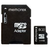 Memorex microSD Travel Card, Class 6, 8GB
