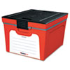 Guardian Storage Box, 1.04 ft3, 15-4/5w x 19-1/2d x 12-3/5h, Red