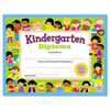 Colorful Classic Certificates, Kindergarten Diploma, 8 1/2 x 11, 30 per Pack