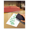 Peel & Stick Dry Erase Sheets, 10 x 10, White, 5/Pack