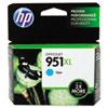 CN046AN140 (HP 951XL) Ink Cartridge, 1500 Page-Yield, Cyan
