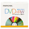 Memorex DVD+RW Discs, 4.7GB, 5/Pack