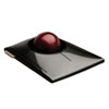 Kensington SlimBlade Trackball, Graphite w/Ruby Red Trackball
