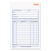 Adams Business Forms Carbonless Sales Order Book, Three-Part Carbonless, 4-3/16 x 7 3/16, 50 Sheets