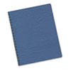 Classic Grain Texture Binding System Covers, 11-1/4 x 8-3/4, Navy, 200/Pack