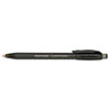 Paper Mate ComfortMate Ballpoint Retractable Pen, Black Ink, Fine, Dozen