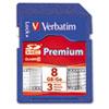 Verbatim Premium SDHC Memory Card, Class 10, 8GB