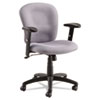 Syze Series Swivel/Tilt Task Chair, Black Frame; Gray Fabric