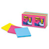 Post-it Pop-up Notes Pop-Up Refills, 3 x 3, Neon, 12 100-Sheets, Pads/Pack